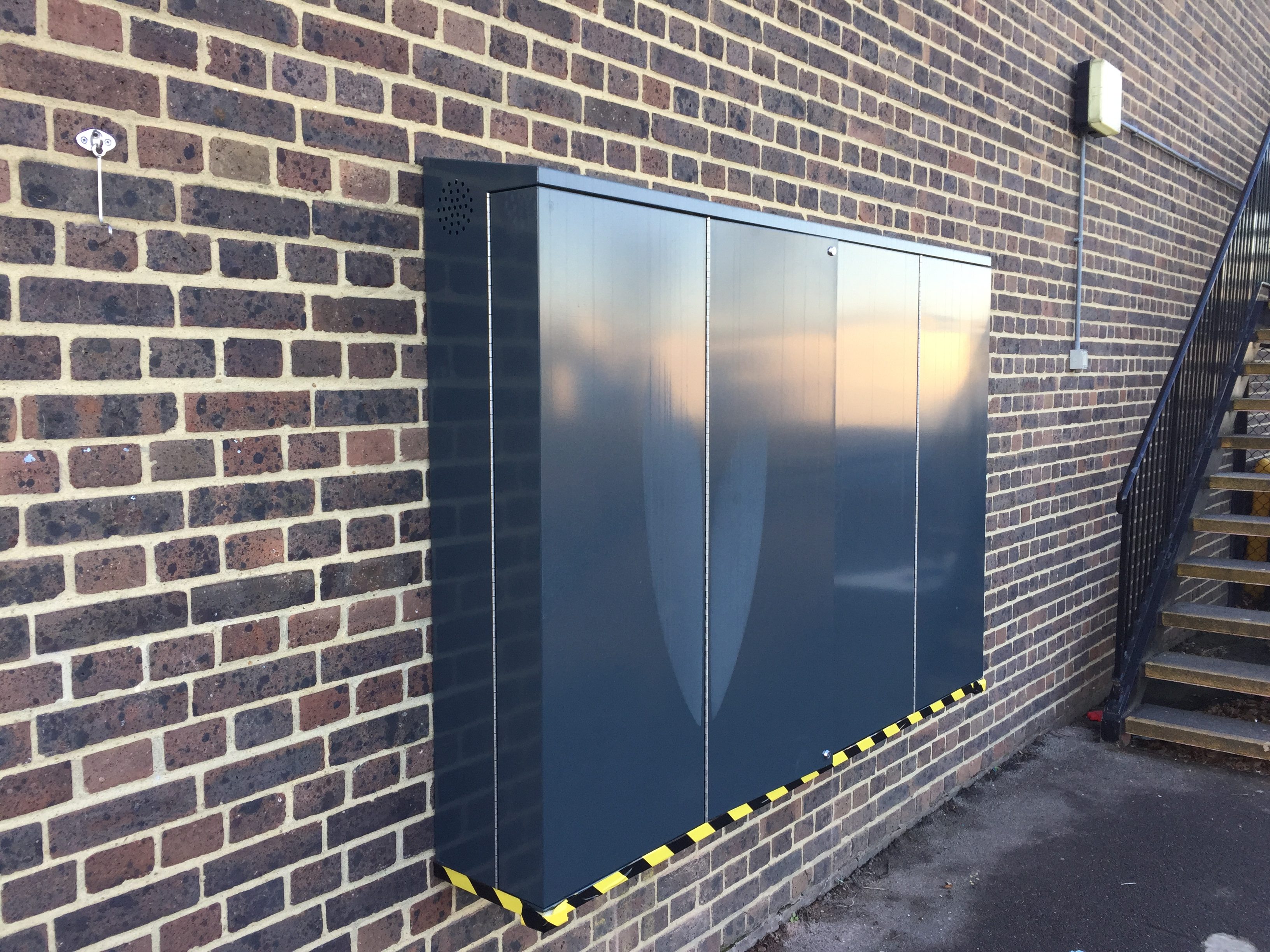 Outdoor TV Security Enclosure