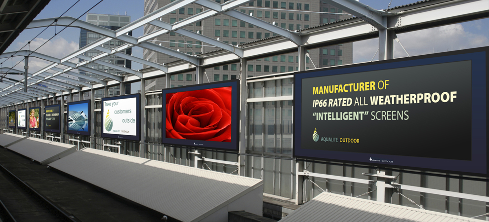 Outdoor Digital Signage Screens