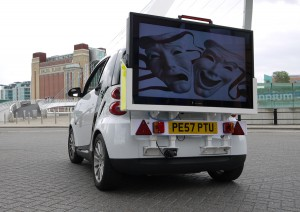 Outdoor Mobile TV Advertising Display Screens