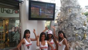 Hooters Phuket - Aqualite Outdoor TV