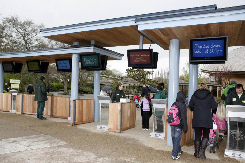 Outdoor Digital TV Display Screens