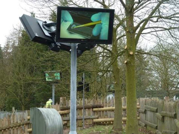 EU Outdoor TV Display Screen