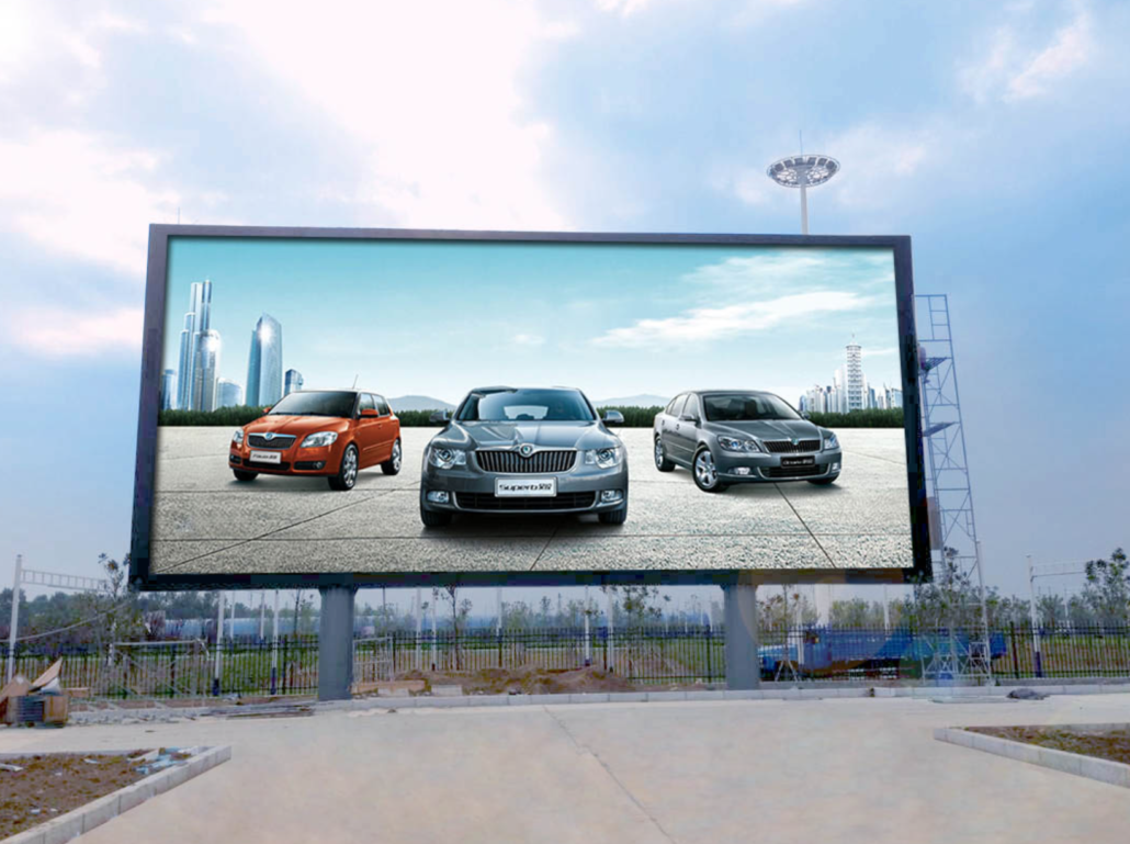 big screen outdoor led tv