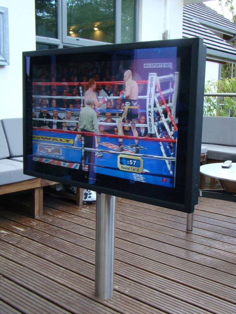 Domestic Amp Business Outdoor Tv Display Screen Monitor Installations