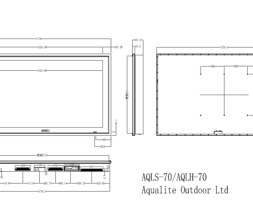 AQLH-70 Outdoor TV