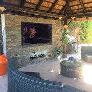 Outdoor TV Screens For Gardens & Pools
