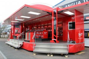Torton Ad Kiosk & Road Show Trailer Displays
