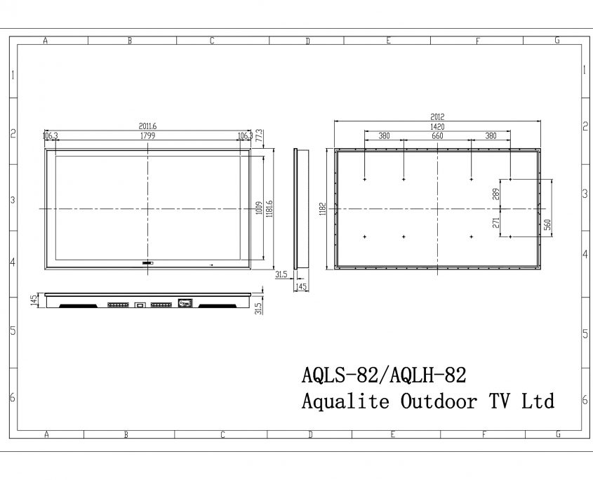 AQLS-AQLH-82 Outdoor TV